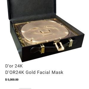 D'or24k Prestige Gold Face Masks (6)
